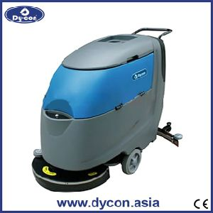 Automatic Easily Operate Floor Scrubber on Hard Floor pictures & photos