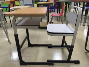Adjustable Specifical Design Student Desk and Chair Sets (SF-51S) pictures & photos