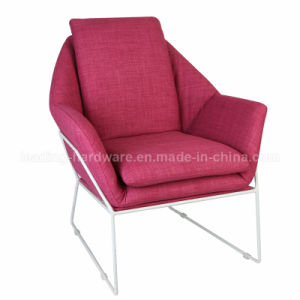 Fabric Upholstered Steel Frame Soft Hotel Furniture pictures & photos