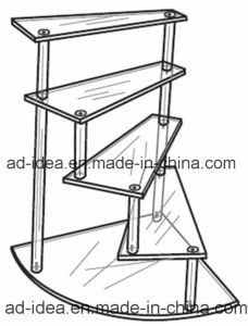 Ladder Type Acyrlic Rack Stand pictures & photos