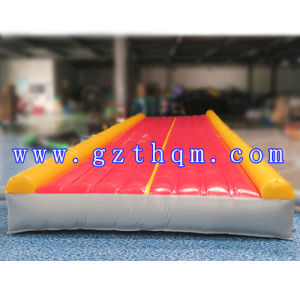 Blue PVC Inflatable Air Track Cushion for Water Games or Fitness pictures & photos