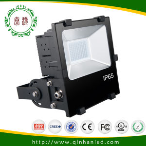 IP65 Waterproof 100W LED Floodlight (QH-FLXH-100W) with Meanwell Waterproof Driver pictures & photos
