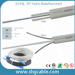 1-4 Fibers Butterfly Indoor FTTH Fiber Optic Cable (FTTH) pictures & photos