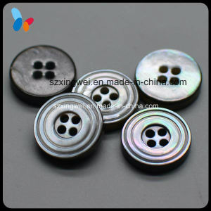 Pearl 4 Holes Troca Shell Button for Shirt pictures & photos