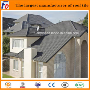 Color Stone Coated Aluminum Zinc Steel Roofing Tile
