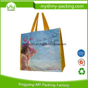 Eco Friendly Handle Carry Shopping PP Laminated Promotion Bag pictures & photos