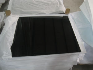 10mm Black Luxury Toughened Glass as Coffee Table Top pictures & photos
