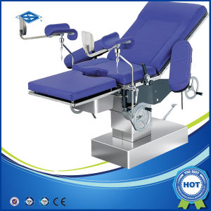 Hydraulic Operating Gynaecology Obstetric Table (HFMPB06B) pictures & photos