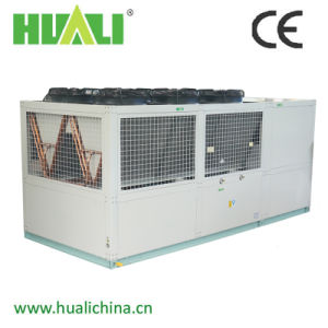 Double Screw Compressor Industrial Air to Water Air Cooled Water Chiller pictures & photos