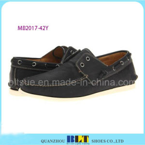 Classic Design Leather Boat Shoes pictures & photos