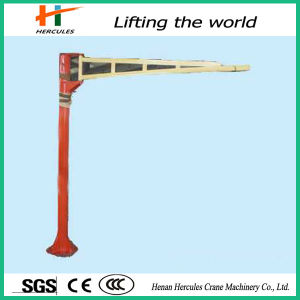 Customerized Electric Hoisting 10ton Pillar Mounted Jib Crane for Loading pictures & photos