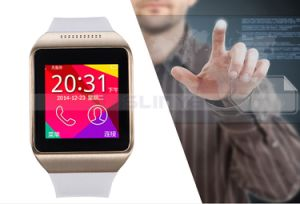 Best Cheap 1.50inch Silicone Touch Screen Bluetooth Watch Mobile Cell Phone Smart Waterproof Android Watch Phone with SIM Card Camera Function pictures & photos