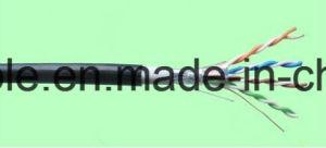 Hot Sale ETL Dual Jacket UTP Cat5e LAN Cable (PVC+PE) pictures & photos