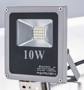 10W COB IP44 High Lumens High Quality High Power LED Lights LED Flood Light for Outdoor with CE (LES-FL-10WA)