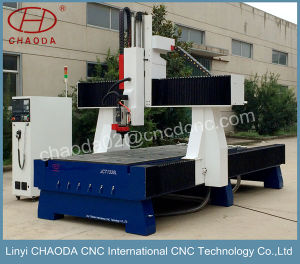 4 Axis CNC Router for Foam Wood Mould pictures & photos