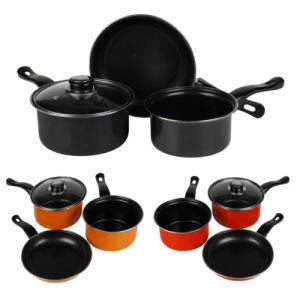 Amazon Vendor 3 Piece Chef Carbon Steel Nonstick Pots Sets pictures & photos
