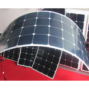 100W 12V Semi Flexible Solar Panel for Car and Caravan pictures & photos