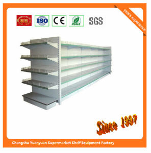 Metal Supermarket Shelf for Taiwan Store Retail Fixture 08059 Commercial Shelving pictures & photos