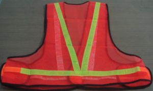 High Visible Reflective Safety Vest for Roadway pictures & photos