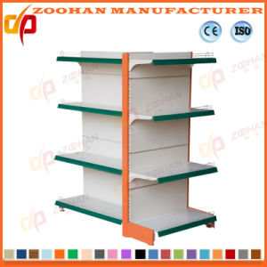 Double Side Gondola Supermarket Display Store Shelf (ZHs636) pictures & photos