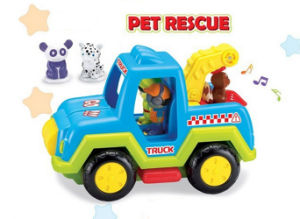 Plastic Car Toy Pet Rescue Electric Vehicle Toy (H0037150) pictures & photos
