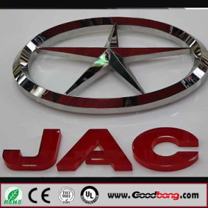 4s Store Acrylic Wall Car Logos with LED Light pictures & photos
