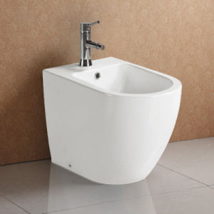 Round Modern Design White Glazed Ceramic Bidet pictures & photos