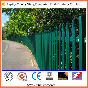 Galvanized or Powder Coated Euro Palisade Fence pictures & photos