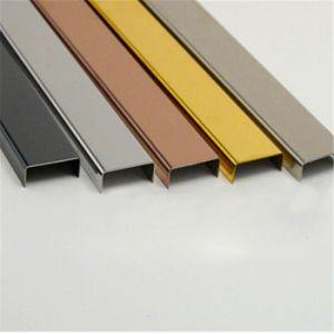 Stainless Steel U Channel for Door Covering pictures & photos