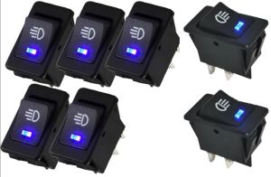 5-Pin DC 12V 20A Universal Auto Car Power Window Switch on/off Spst Rocker Switch pictures & photos