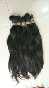 Human Hair Bulk 100 % Remy Virgin Hair Raw Material Lbh 045 pictures & photos