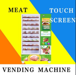Fresh Chicken &Beef Fast Food Vending Machine with Ce