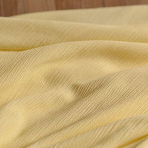 High Density Polyester Wrinkled Fabric Dress Wrinkled Fabric