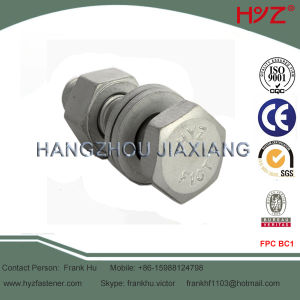 Carbon Steel Hex Head Bolt for Steel Structures pictures & photos