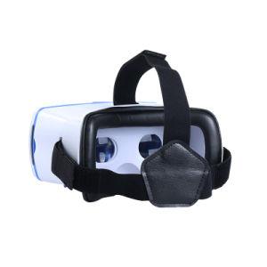 Head Mounted Googel Cardboard Magnet Trigger Vr Game 3D Glasses
