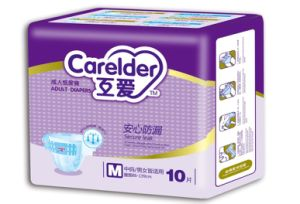 Factory Made Disposal Adult Diapers, Made in China Diaper, Eom Welcome pictures & photos
