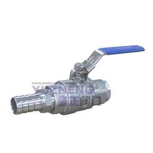 2 Piece Ball Valve with Hose End pictures & photos