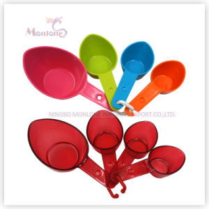 Kitchen Utensils 4 Pack Colorful Food Grade ABS Measuring Spoon pictures & photos