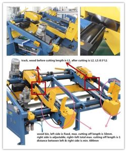 Sf602 Wood Pallet Double End Cutting Saw pictures & photos