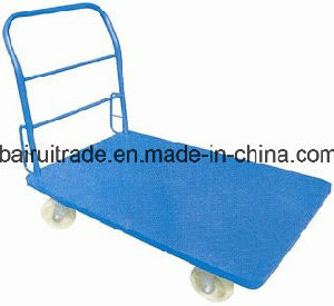 Foldable Metal Platform Hand Truck pictures & photos