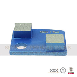 Trapezoid Diamond Grinding Shoe Pad Plate Tools pictures & photos