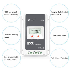 Tracer 40A 12V/24V LCD Solar Panel Cell PV Controller Tr4210A pictures & photos