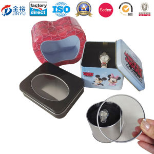 Rectangle Tin Watch Box for Watch Display pictures & photos