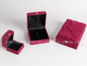 Customized Luxury Velvet Suede Jewelry Box for Necklace