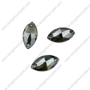 Wholesale 9*18mm Navette Sew on Stones for Dress pictures & photos