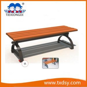 Outdoor Good Quality Wooden Long Bench pictures & photos