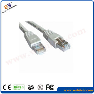 CAT6 FTP 24AWG Patch Cord Stranded Copper Cables with 30inch Gold Plating Connectors pictures & photos