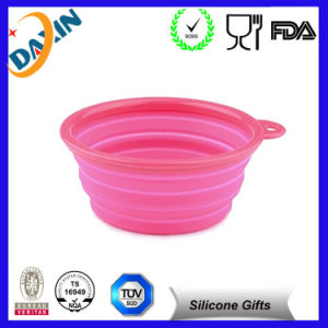 Hot Selling Silicone Collapsible Travel Bowl pictures & photos