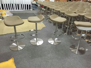 Stainless Steel Bar Counter Stool with Footrest pictures & photos