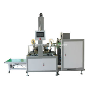 Automatic Box Corner Pasting Machine with Hot Melt Tape (YX-400) pictures & photos